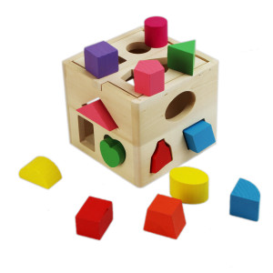 Educational-toys-0-3-years-old-thirteen-hole-intelligence-box-shape-box-porous-cognitive-intellectual-development