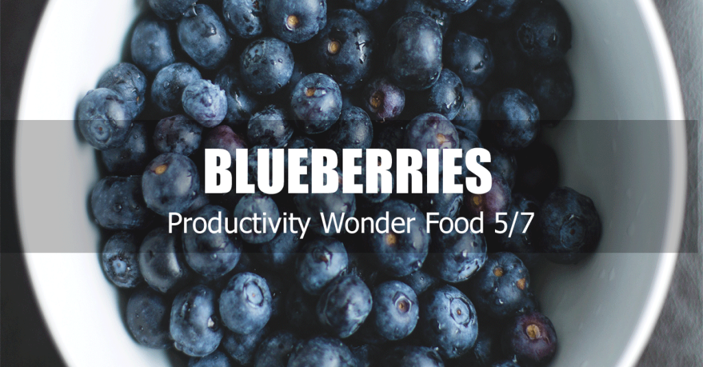 blueberries increase productivity