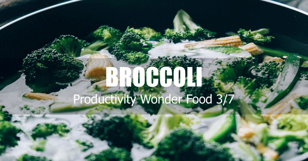 broccoli productivity increasing food