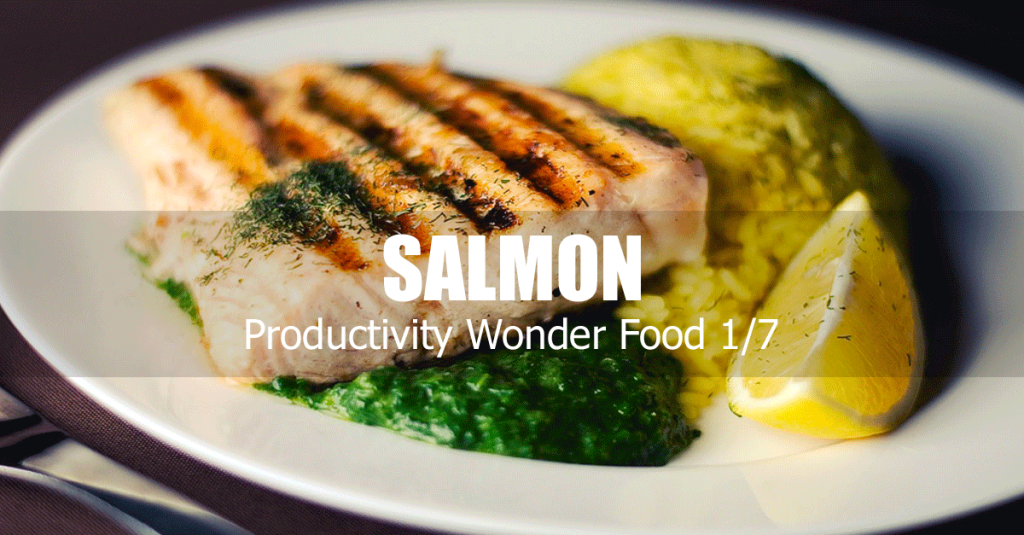 salmon boosts productivity